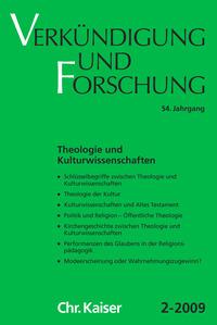 Theologie und Kulturwissenschaft