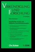 Verkündigung und Forschung, Heft 1:2008